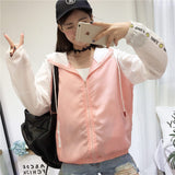 Jacket Women Basic New Fashion Hooded
