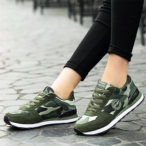 Camo Sneakers shoes Sport PU22