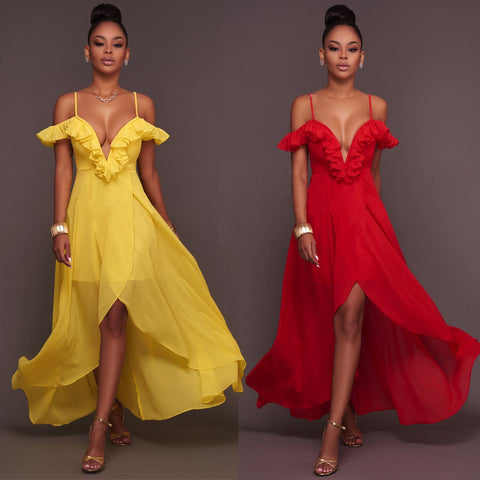 Dresses Long Evening Party Ball Prom Gown Women Formal