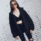 Jacket Long Sleeve Oversized Loose Knitted Coat