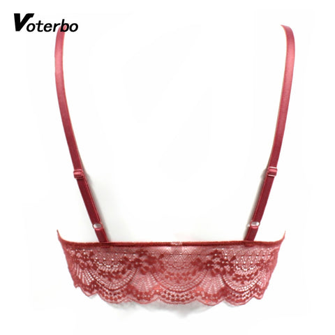 aa88668a1b1ce1 Red Lace Bralette Halter – deevybuy