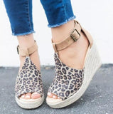 Leather Shoes Comfy Platform Flat Sole RI