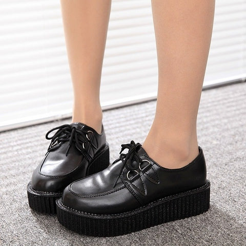 Shoes Creepers Casual Women Flats