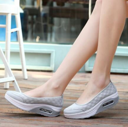 shoes thick flats shoes casual comfort