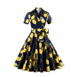 dress cute Women Vintage Rockabilly