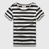 Stripe T-Shirt Fashion