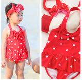 Bikini swimwear children cute