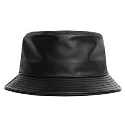 genuine leather fishing cap bucket Hat SE