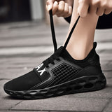Breathable Mesh Lace-up Sport Running Shoes RI