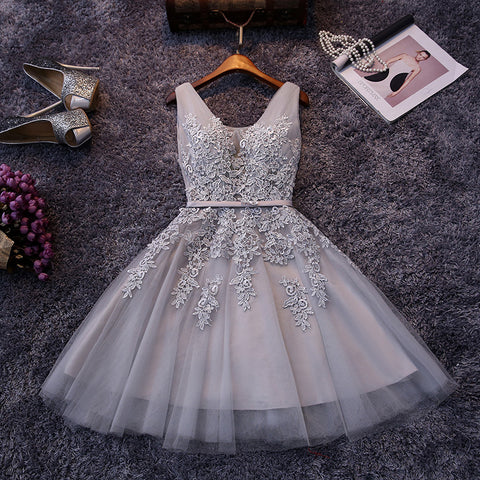 Sexy V-neck Lace Formal Dress