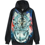 Tie Dye Color Hoodies