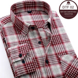 Long-sleeved Flannel Shirt size XS-4XL