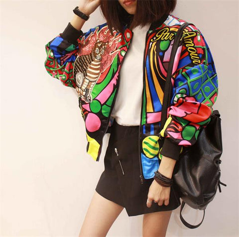 jacket women Harajuku pilot