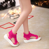 Shoes platform flip flops footwear heeled