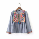 jacket vintage loose retro pleated coat long