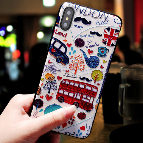aa9ada4302 xinwen luxury 3d flower capinha,coque,cover,case for iphone x 10 for