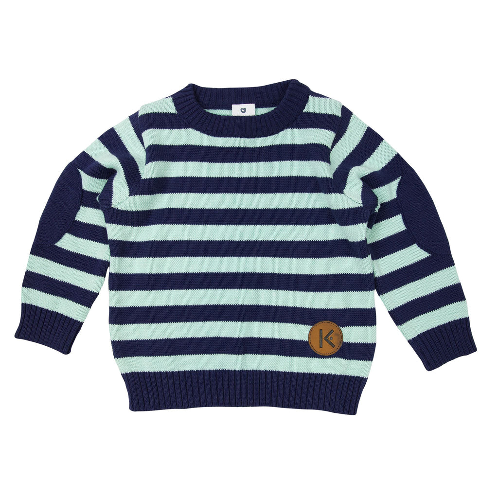 A1719G Construction Stripes Sweater