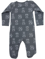 B1601CP Forest Friends Organic L/S Romper