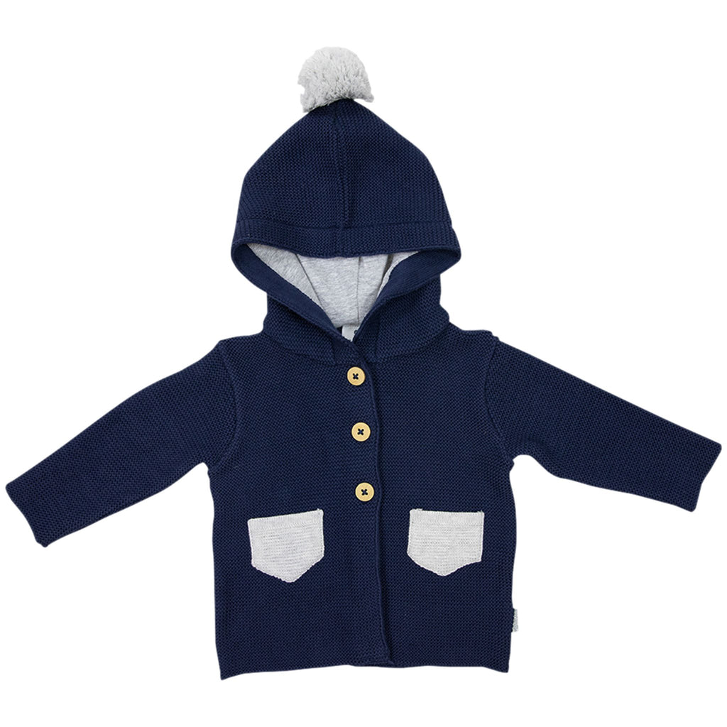 B1714N Aussie Bush Hooded Knit Jacket