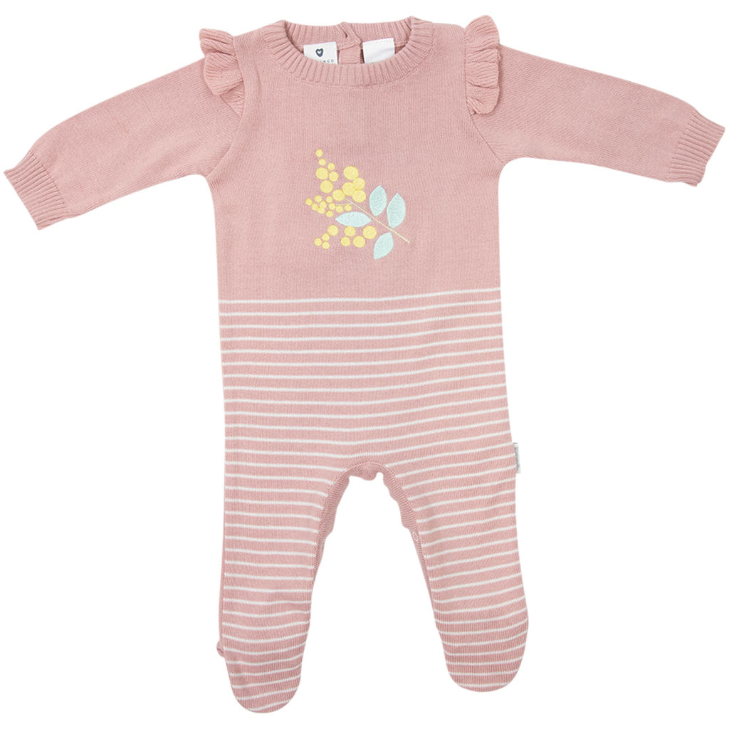 B1707P Wattle We Do Knit Romper