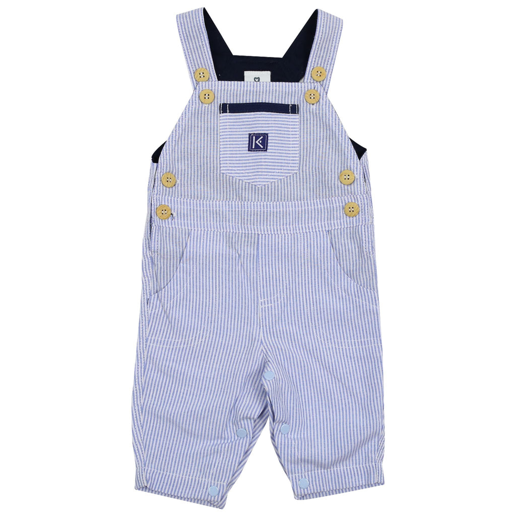 C1526B Cables n Class   Denim Stripe Overall