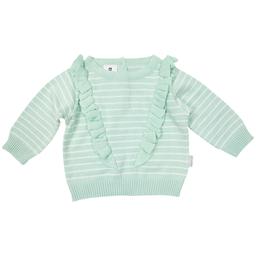 B1710M Wattle We Do Frill Sweater