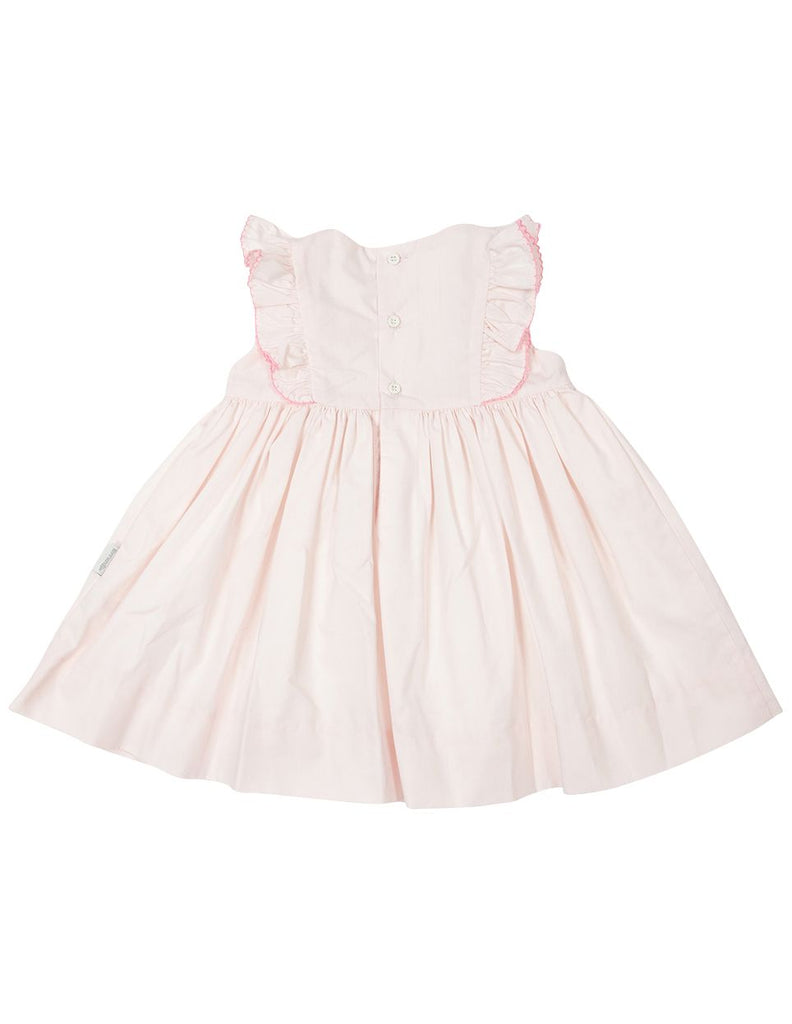 B1617P Timeless Hand Smocked/Embroidered Dress