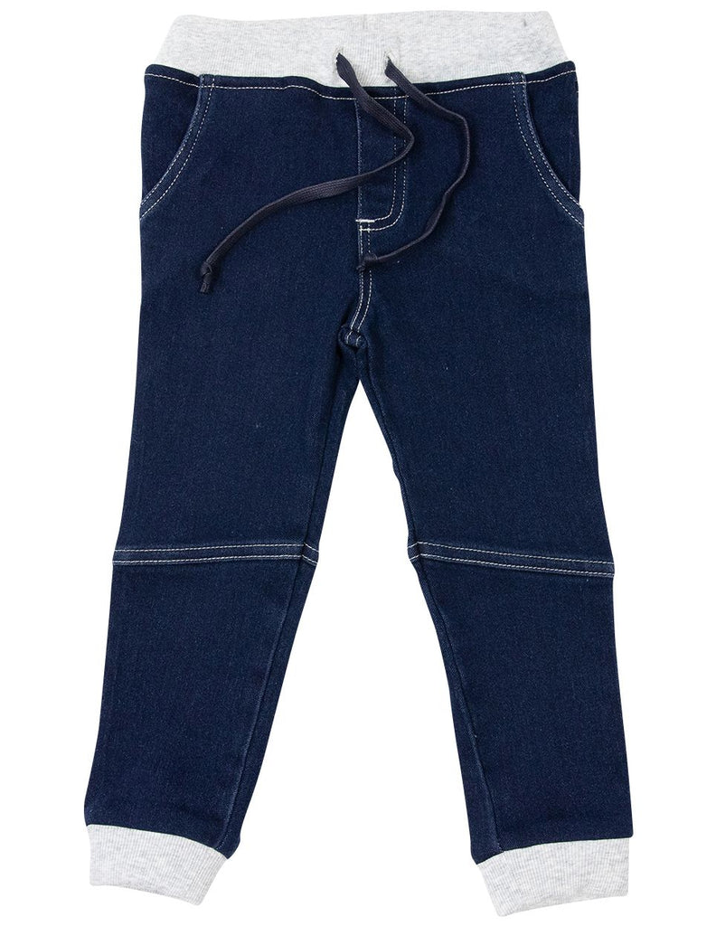 A1617M Frenchy Stretch Denim Knit Pant