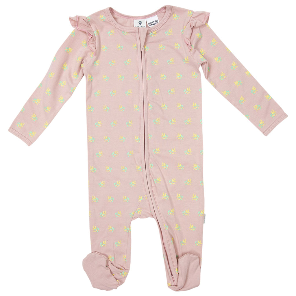 B1708P Wattle We Do Double Zip Romper