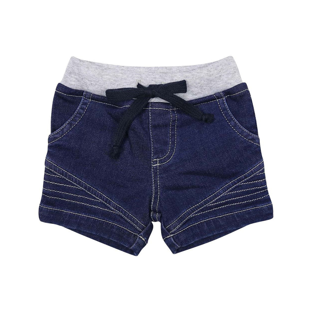 B1404D Tractors Denim Look Shorts