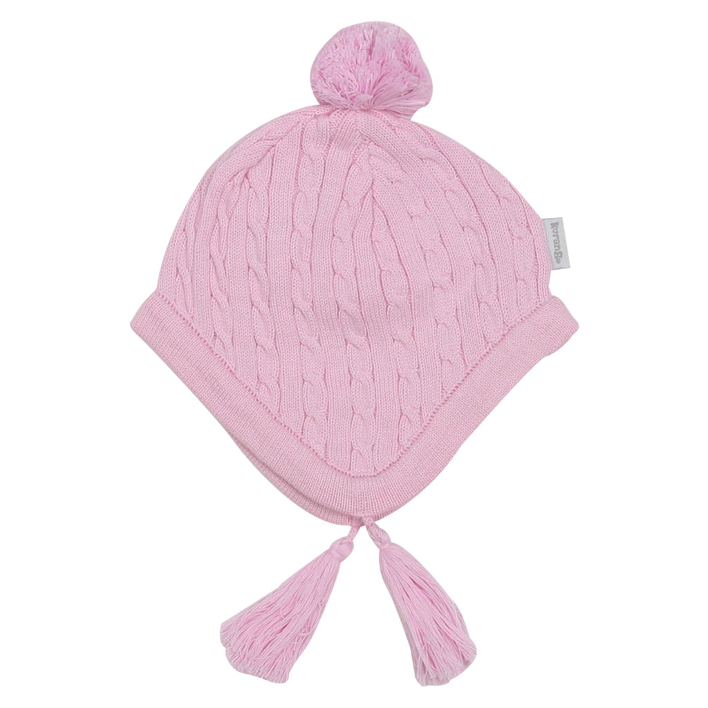 A1513P Hot Air Balloon Cable Knit Beanie