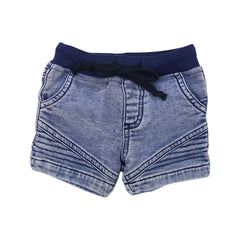 B1404L Tractors Denim Look Shorts