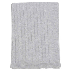 C1529G Cables n Class   Cable Knit Blanket