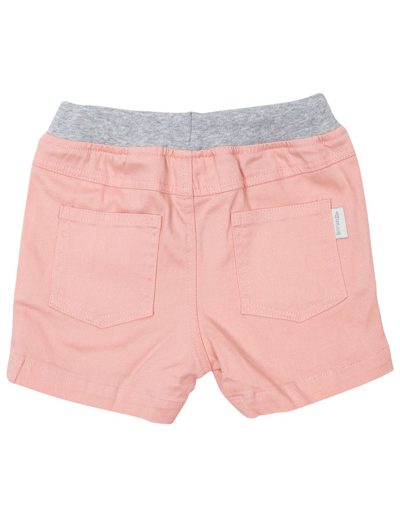A1621D Subtle Stripes Stretch Twill Short