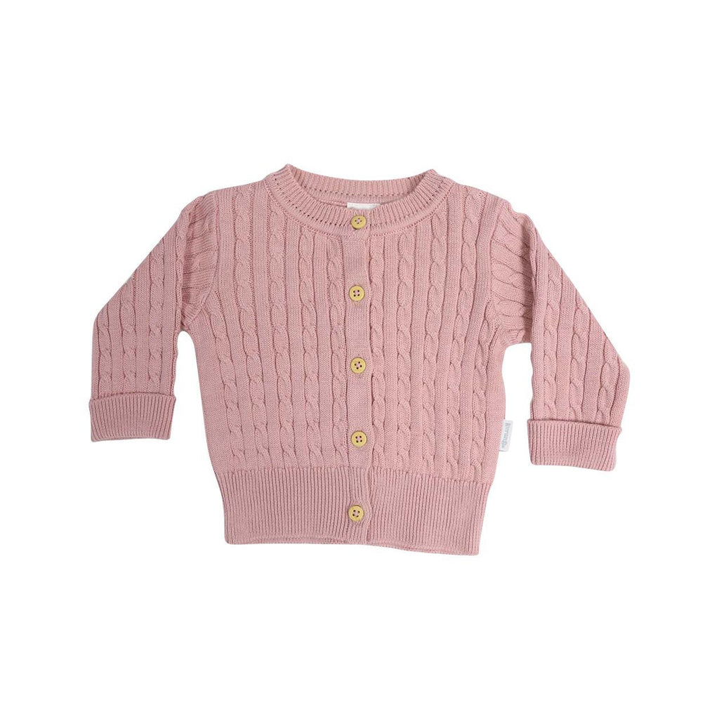 C13014D Classique Girl Cable Knit Cardigan-Cardigans/Sweaters/Jackets-Korango