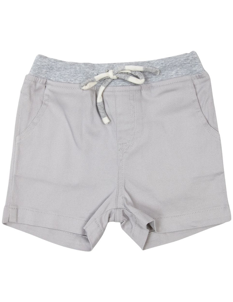 A1621G Subtle Stripes Stretch Twill Short