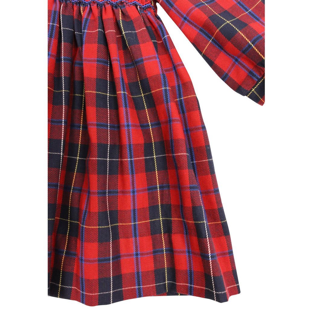 C9027 Plaid Girl Dress-Dresses-Korango