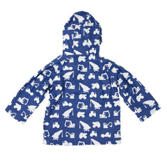 A1753N Rainwear Boys Colour Change Construction Raincoat