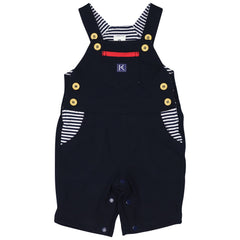 C1417N Nautical Stripes Cotton Overalls
