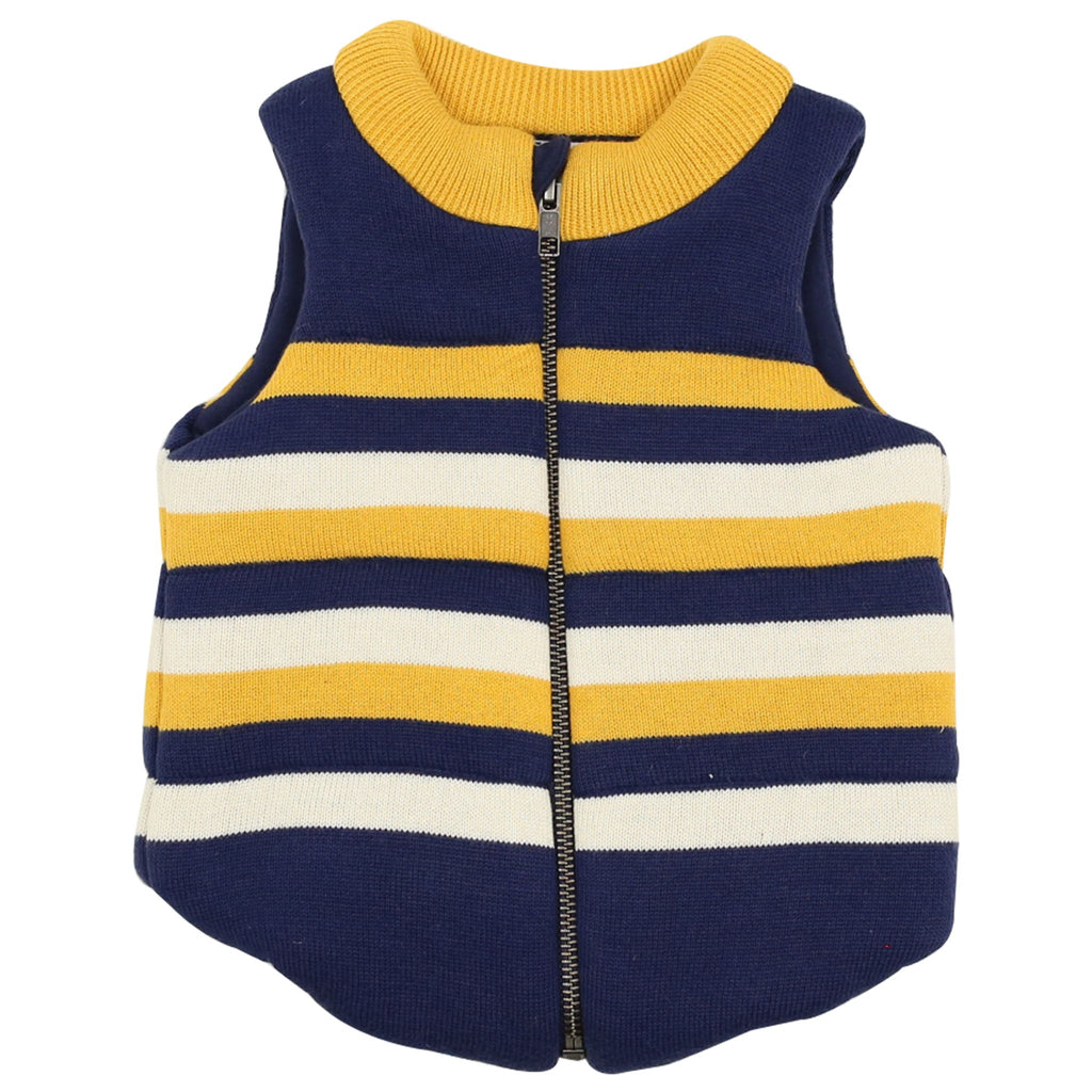 A1502N Polar Bear Padded Knit Vest