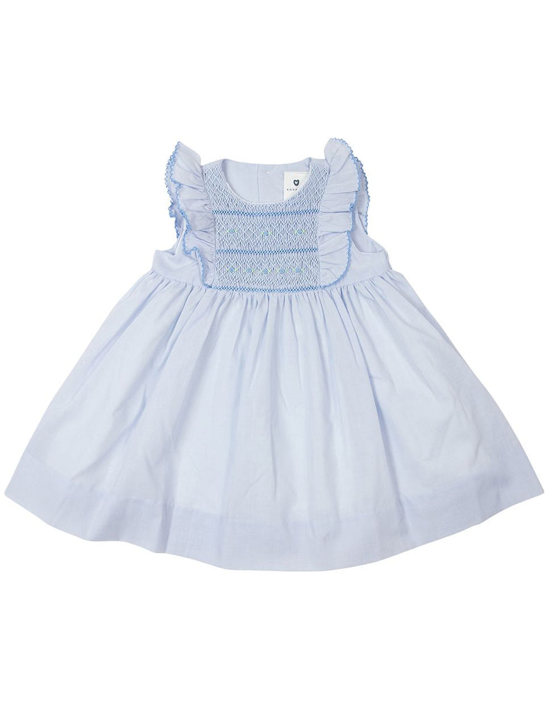 B1617B Timeless Hand Smocked/Embroidered Dress