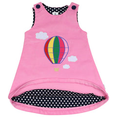 A1561P Rainbow Balloon Cord Pinafore