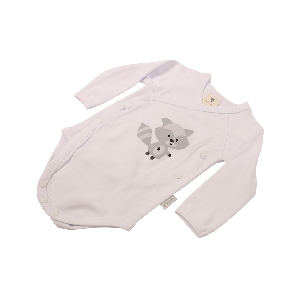 B9027 Forest Friends Long Sleeve Bodysuit