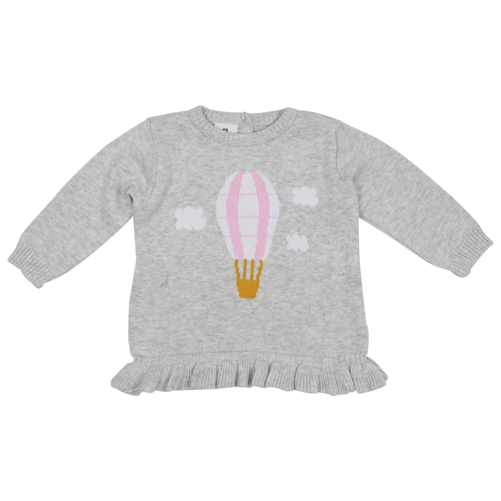A1508G Hot Air Balloon Knit Sweater