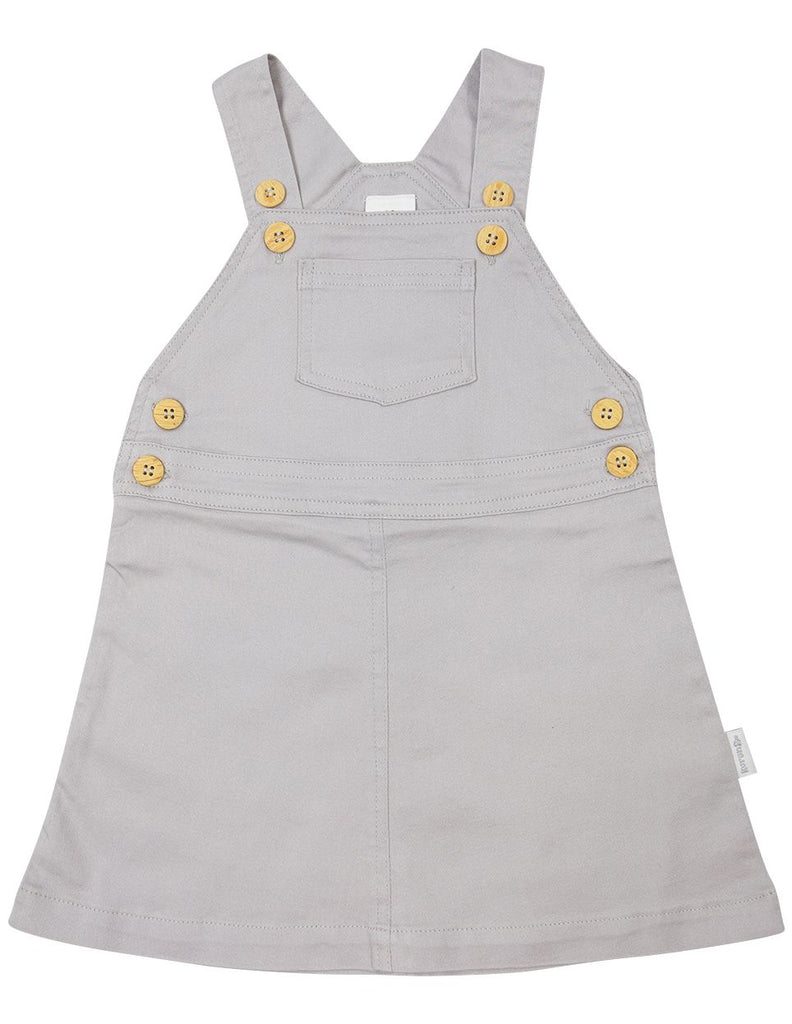 A1618G Subtle Stripes Stretch Twill Pinafore