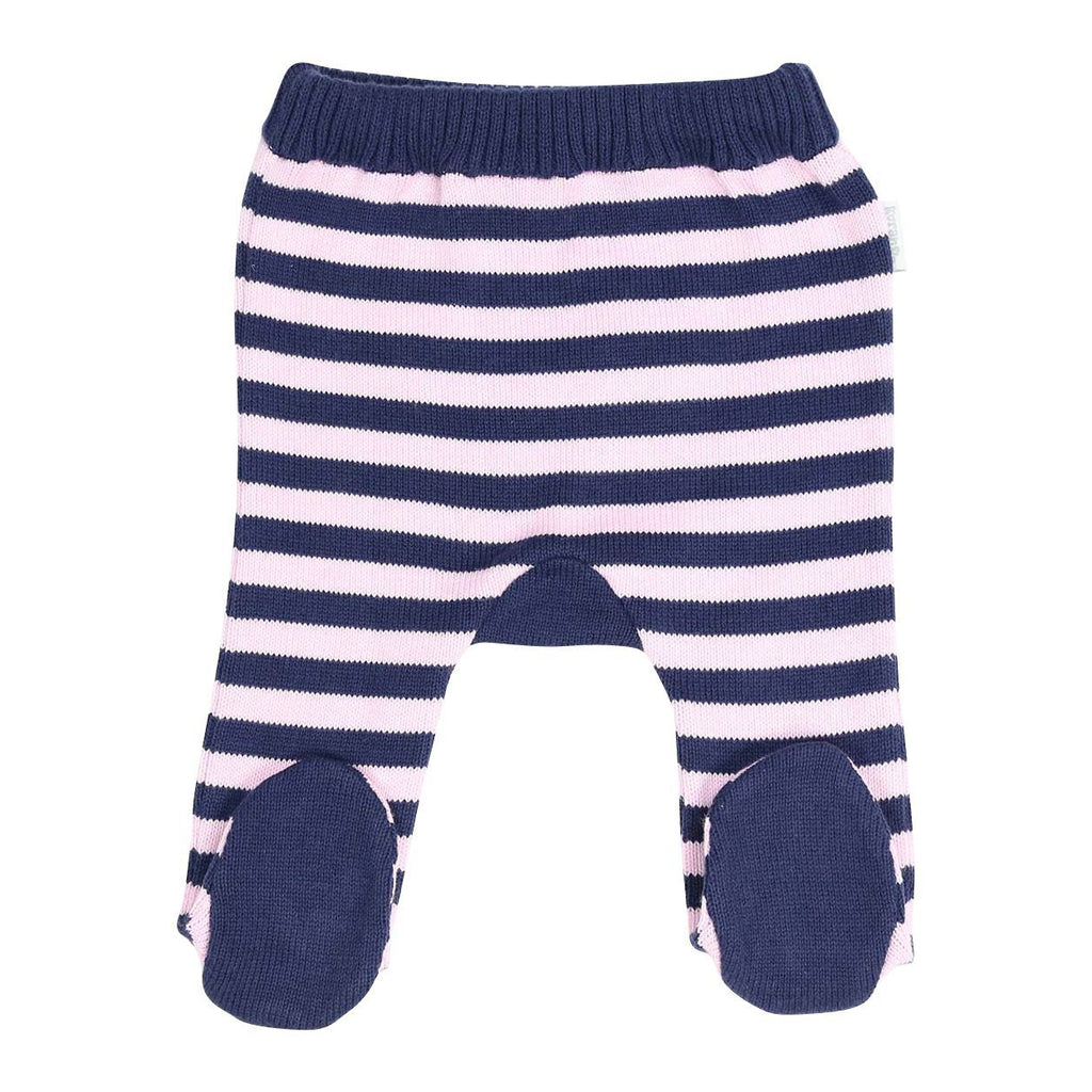 B13012P Swan Princess Stripe Knit Legging-Bottoms-Korango