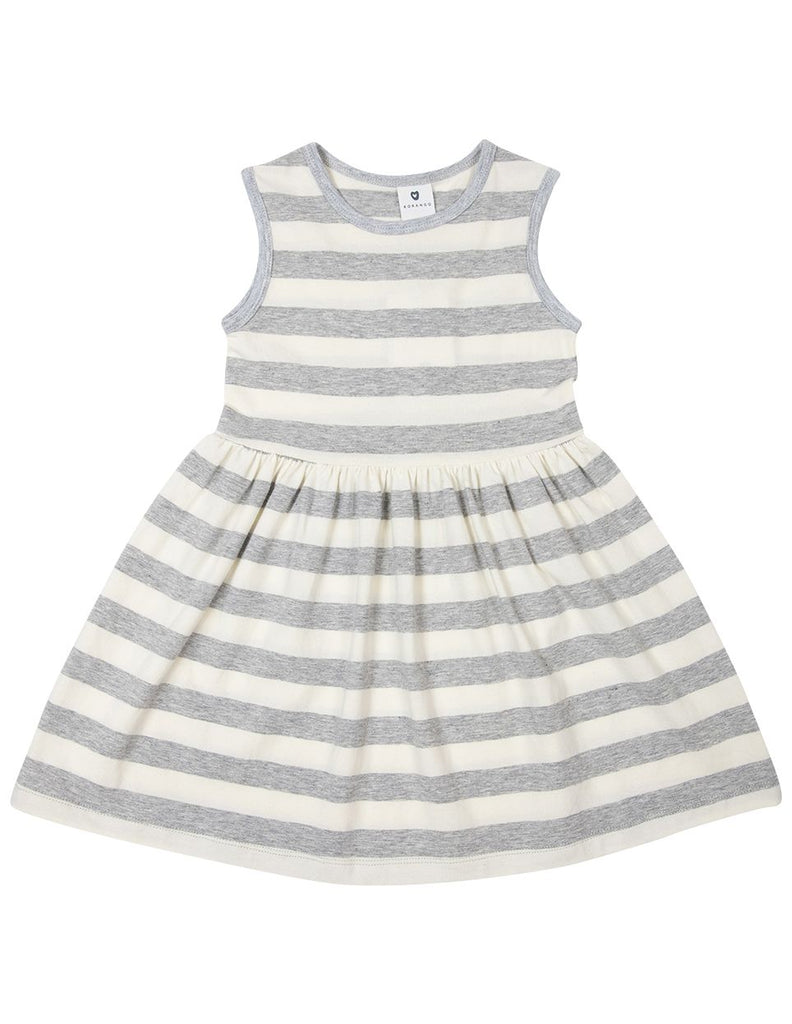 A1622G Subtle Stripes Striped Cotton Dress