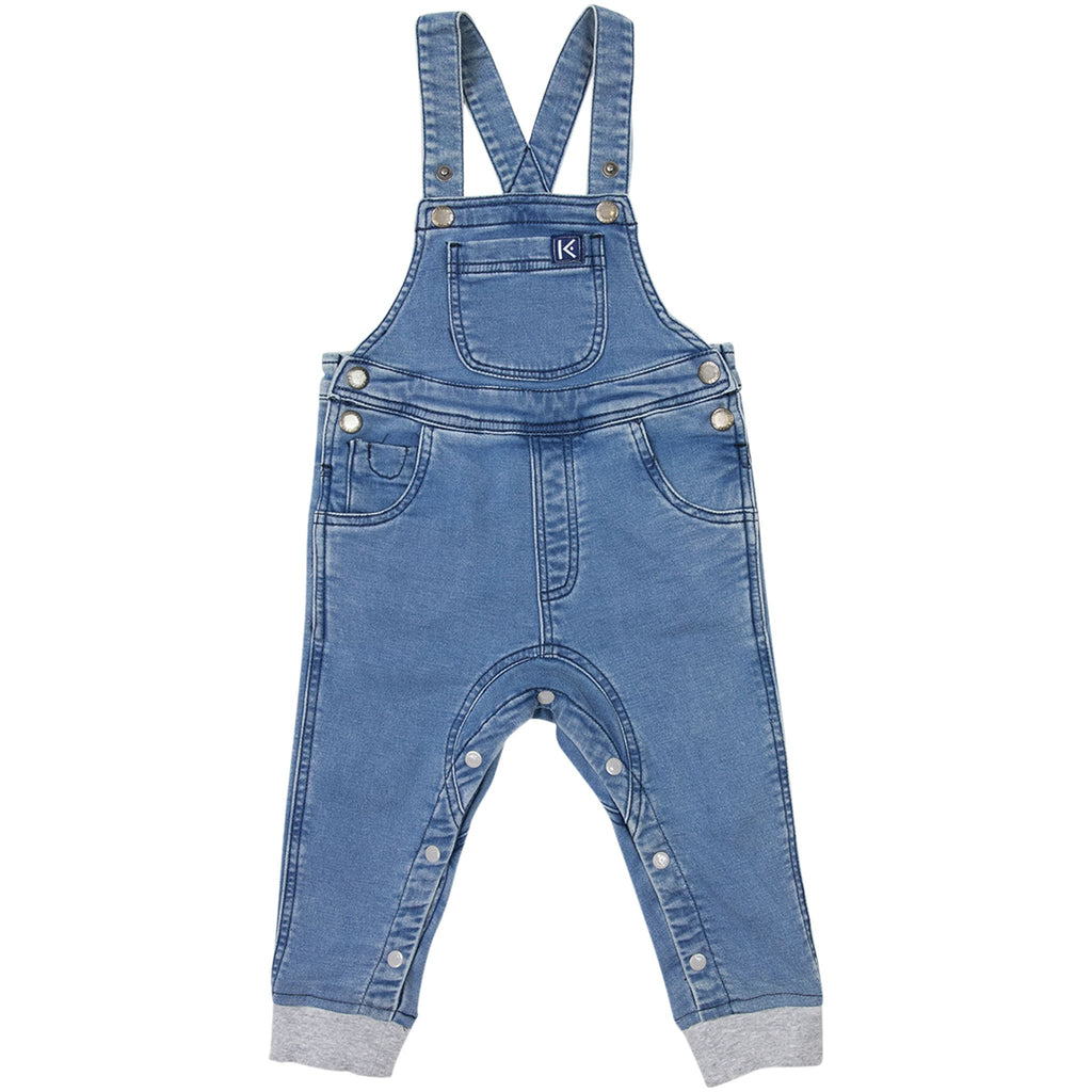 A1707L Excavator Faux Denim Overall