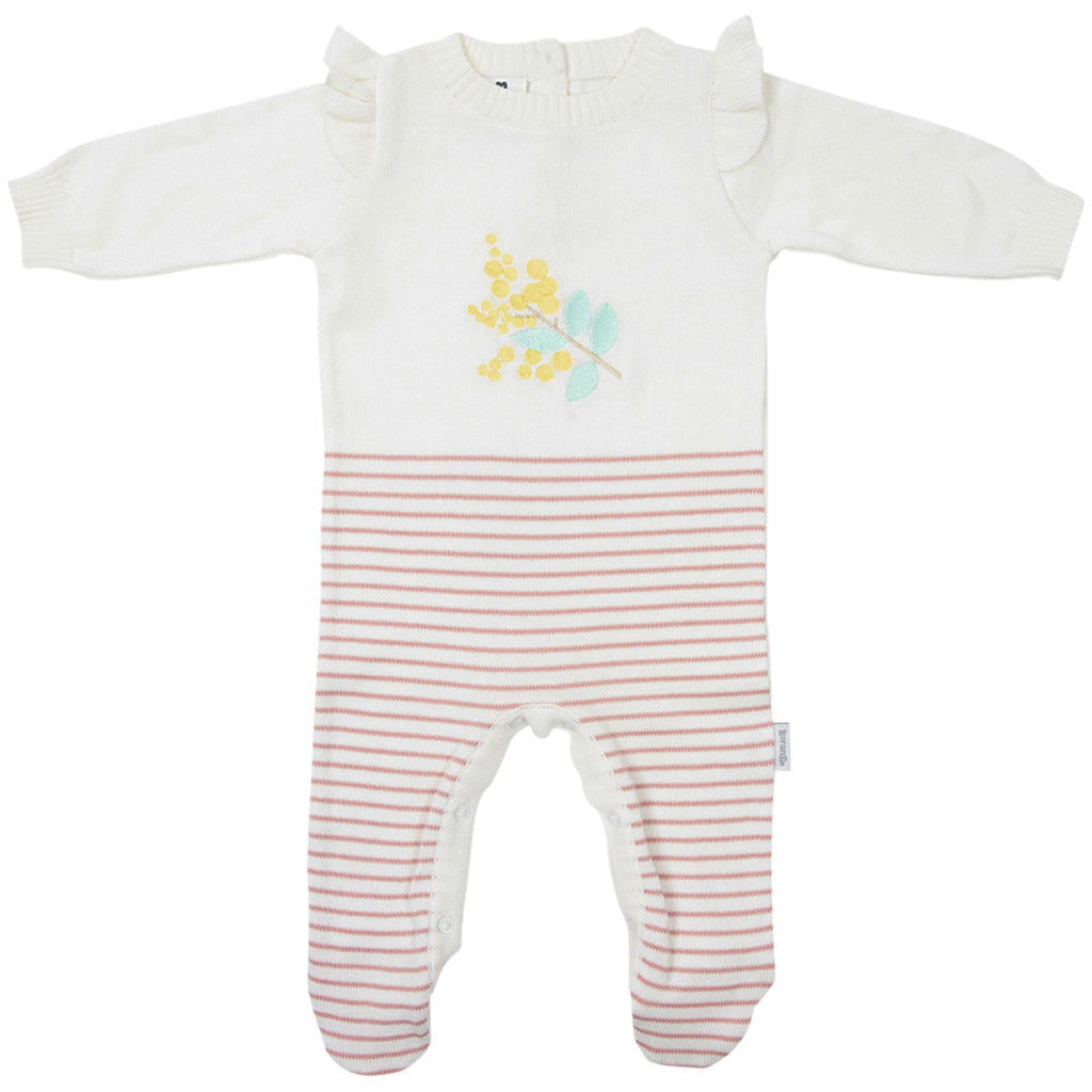 B1707C Wattle We Do Knit Romper