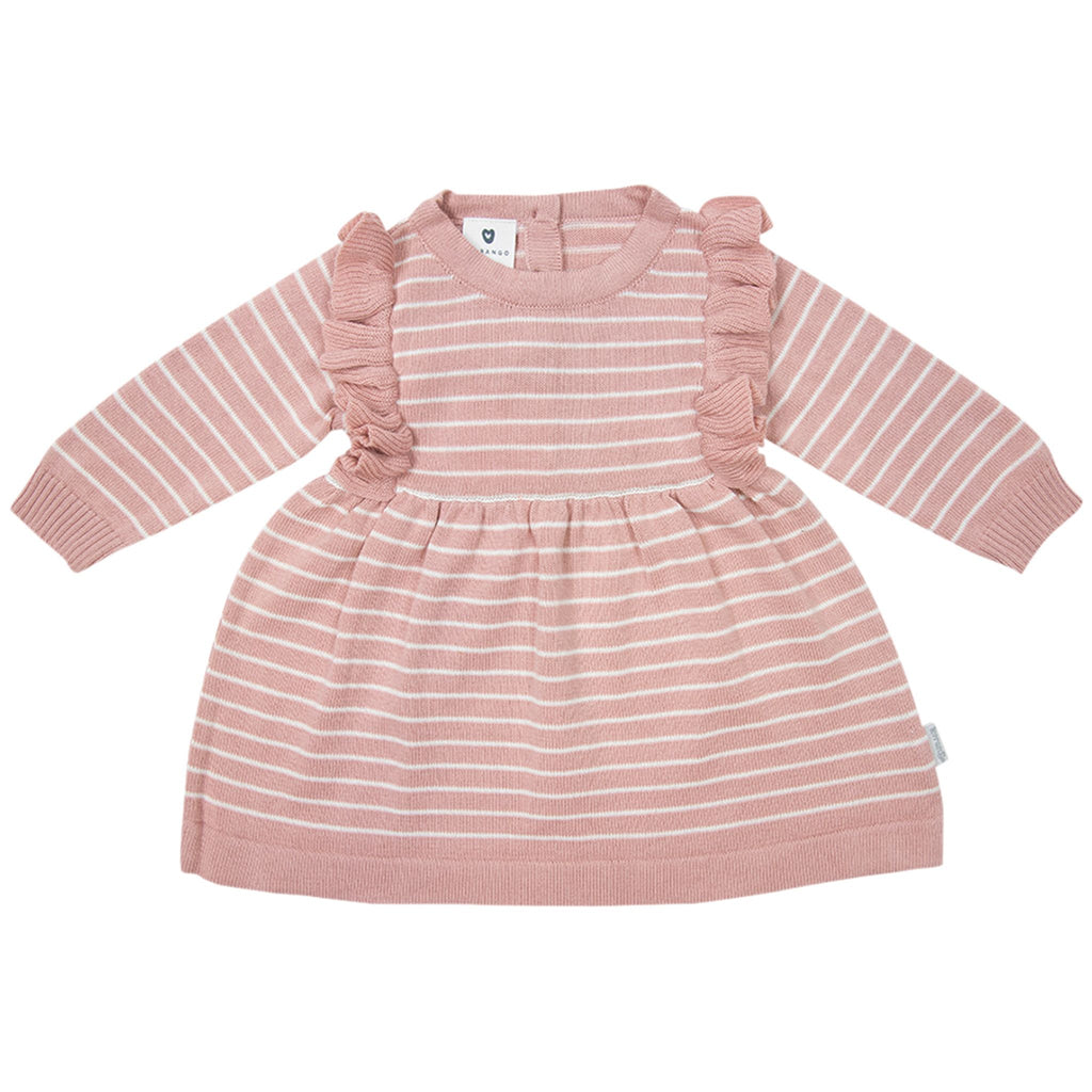 B1709P Wattle We Do Striped Knit Dress